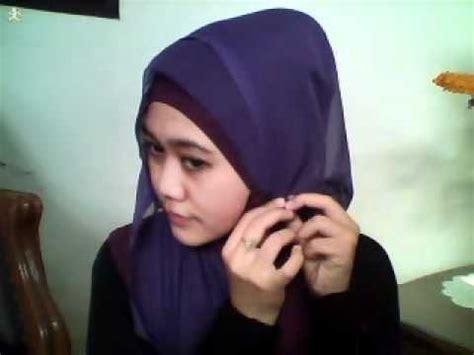 tutorial hijab paris youtube hijab tutorial square paris part 2 youtube
