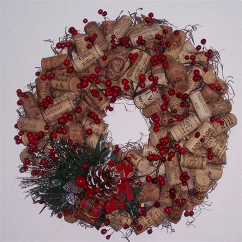 christmas ideas for wine corks 12 merry wine decorations nectar tasting room and wine