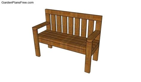 2 x 4 bench plans simple garden bench plans free garden plans how to build garden projects