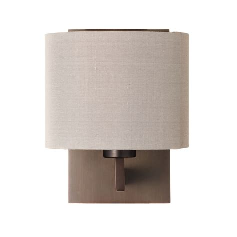 lewis olan wall light bronze oyster review