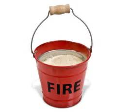 fire bucket ashtray iwoot