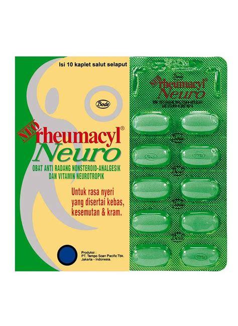 Obat Rantin neo rheumacyl obat anti radang neuro 10 s str klikindomaret