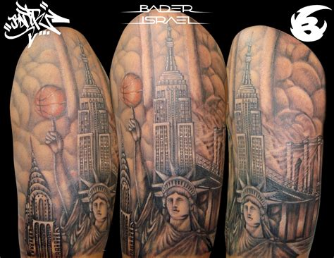 tattoo pictures of new york tattoo sleeve new york images