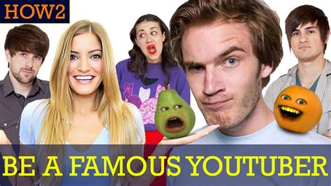how to be a how2 how to be a youtuber