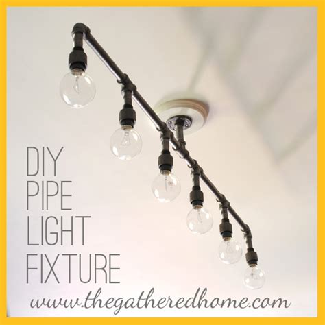 How To Make A Fabulous Plumbing Pipe Light Fixture By The