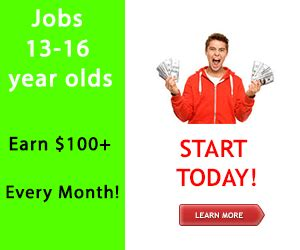 front desk jobs for 16 year olds where 13 year old kids can get hired for a job in 2018
