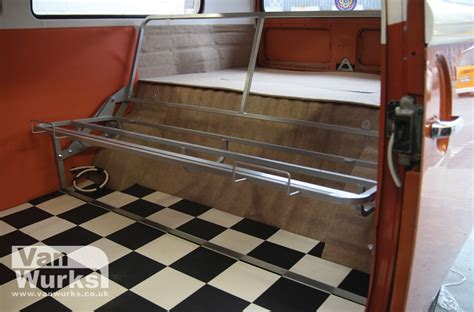 rock beds full width rock and roll bed frame vanwurks vw cer interiors