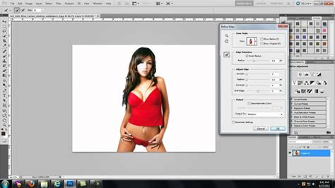tutorial crop photoshop cs5 how to crop people out with hair in adobe photoshop cs5