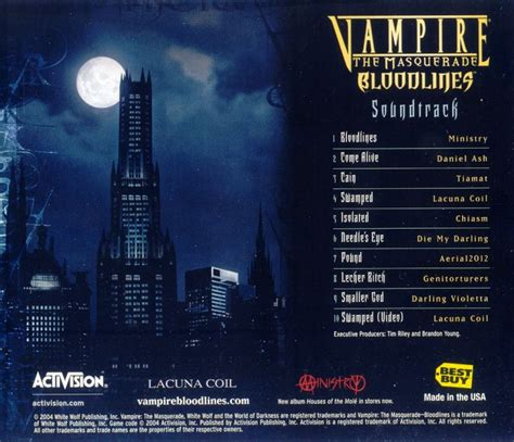 bloodline soundtrack the masquerade bloodlines soundtrack soundtrack