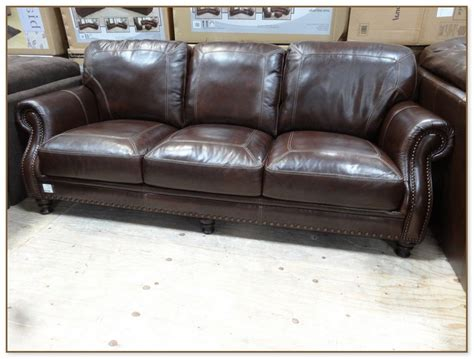 simon li leather sofa costco