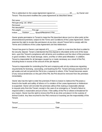 Addendums In Chronological Order How To Write An Addendum To A Lease With Sle Addendums