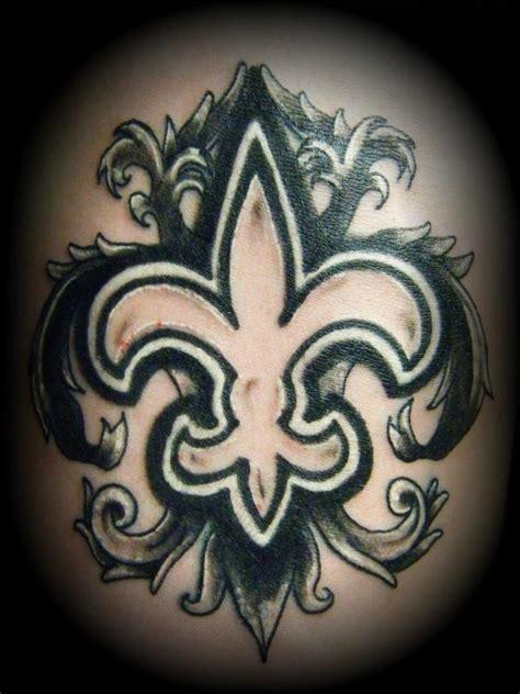 saints fleur de lis tattoo designs fleur de lis images designs