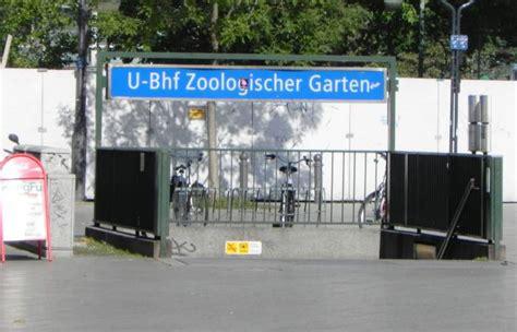 S U Bahn Zoologischer Garten by U Zoologischer Garten Belrin Charlottenburg Zoologischer