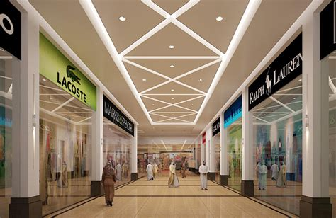Mall Corridor Amjaad Group