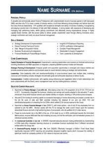 Exle Of A Cv Resume by Cv Exles Free
