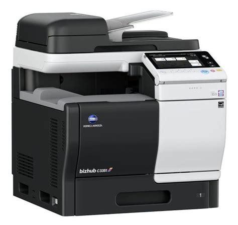 color copiers konica minolta bizhub c3351 color copier printer scanner