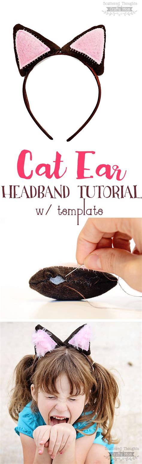 printable animal ears headbands 17 best ideas about diy cat ears on pinterest buy a