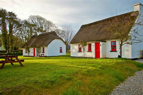 lough derg thatched cottages