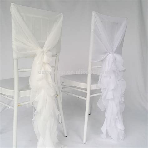 Wedding Ruffled by Fancy Chiavari Wedding Ruffled Chair Covers Buy Wedding