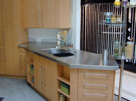 stainless steel kitchen countertops stainless steel countertop custom modern