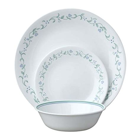 Cottage Dishes by Corelle Livingware Country Cottage 18 Dinnerware Set