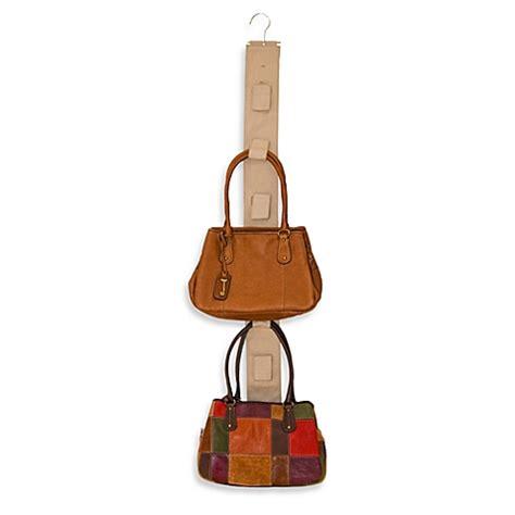 Purse Hanger Closet by Handbag Hang Up Purse Hanger Bedbathandbeyond