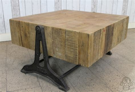 industrial look coffee table retro industrial style coffee table reclaimedvintage