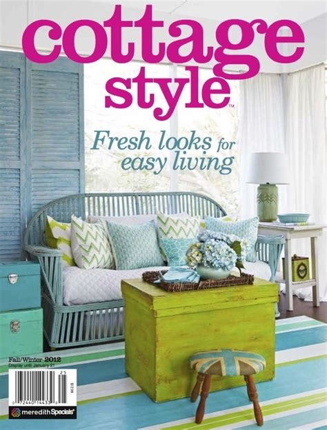 house beautiful cottage living magazine shabbyfufu home featured in cottage style magazine