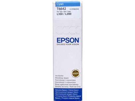 Epson T6642 Cyan by Epson T6642 C13t66424a T S Bohemia