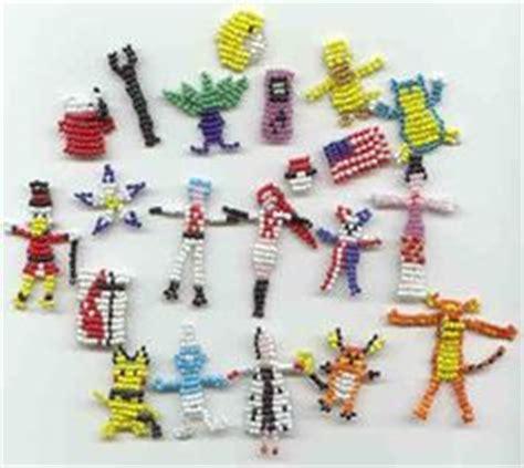 bead buddies patterns free seed bead figures on pony beaded