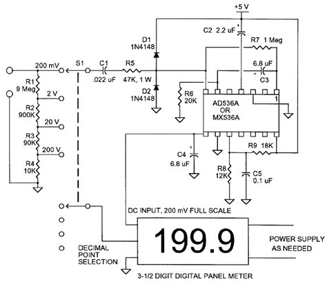 power meter integrated circuit the ac volt nuts volts magazine for the electronics hobbyist