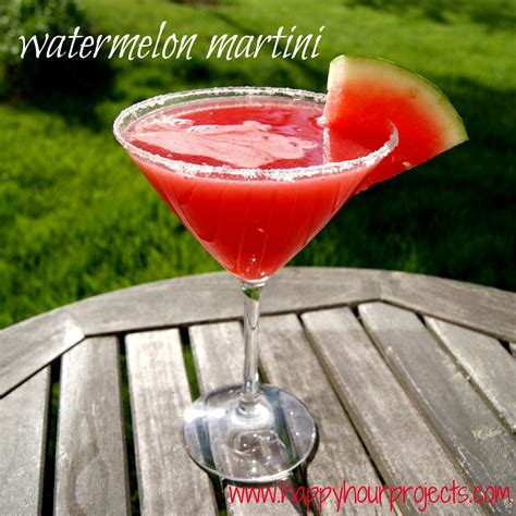 watermelon martini happy hour projects