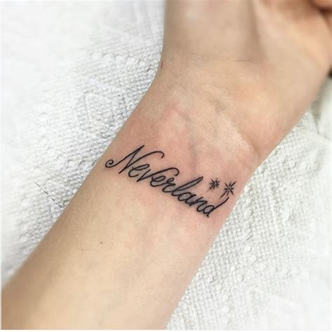 beautiful minimalist tattoos inspired by popular disney