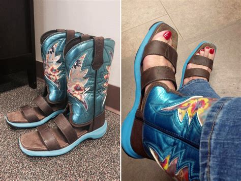 cowboy boots sandals cowboy boot sandals the fashion trend