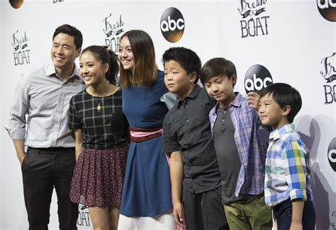 cast fresh off the boat rocky coast news fresh off the boat cast meets fans