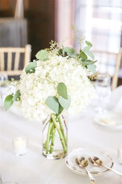 17 best ideas about white hydrangea centerpieces on baby shower flowers baptism