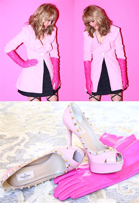 Posh Thinks Pink by Pennies Posh The Pink Coat Dunn