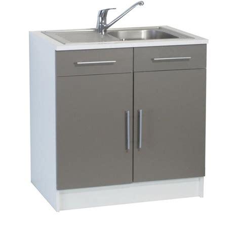 evier de cuisine avec meuble meuble de cuisine avec evier inox cuisine id 233 es de