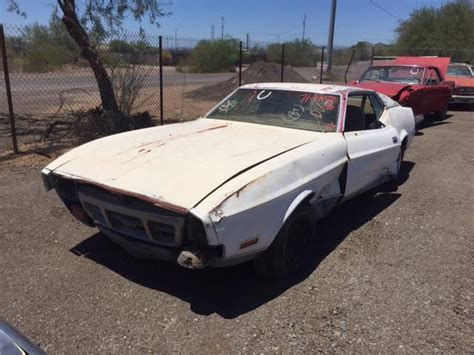 Parts 1967 Ford Mustang Fastback 2 Door Project For Sale 1971 Ford Mustang Mach 1 2 Door Fastback 71f08408d Desert Valley Auto Parts