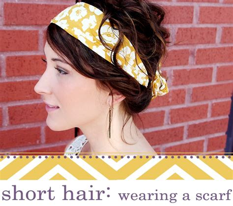 different ways to wear a bandana with short hair short hair wearing a scarf head scarfs hair and style