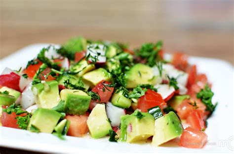 fresh avocado salad mom s dish