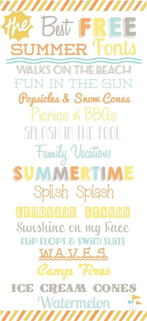 printable beach fonts 108 best images about fonts clipart on pinterest chalk