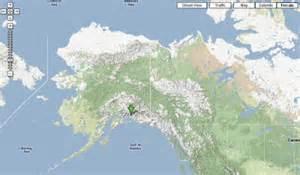 Google Map Alaska by Gis Sites Google Maps Terrain Layer