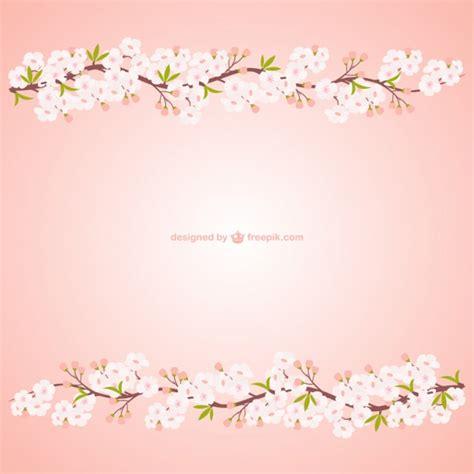 rami con fiori rami con fiori di ciliegio scaricare vettori gratis