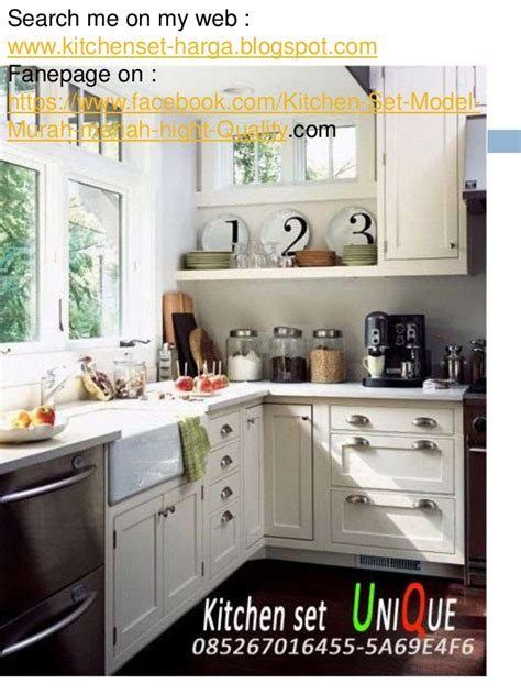 Bahan Untuk Kitchen Set by 86 Kitchen Set Minimalis Untuk Dapur Kecil Adanya