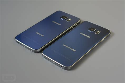 Samsung Edge S6 samsung galaxy s6 vs galaxy s6 edge droid