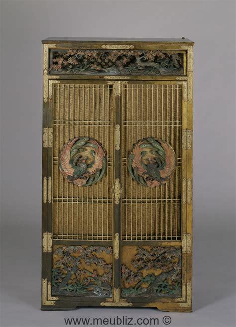 armoire japonaise armoire meuble de style