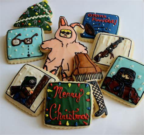a christmas story leg l cookie christmas tale bunny pajamas leg l sugar cookies with