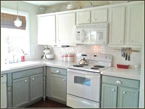refinishing oak cabinets antique white home design ideas