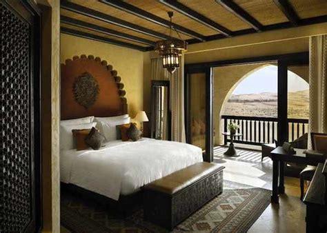 Eastern Home Decor by 5 Hotel Abu Dhabi Deluxe Balcony Rooms At Qasr Al Sarab